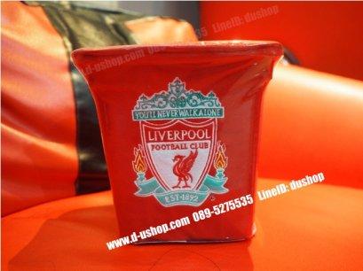 ถังขยะภายในรถ ลาย Liverpool สีแดงสำหรับรถทุกรุ่น