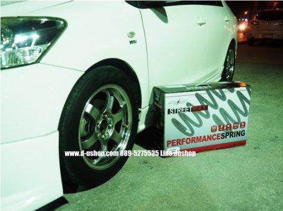 สปริงโหลด SILVER'S SPORT STREETMAX สำหรับรถ Toyota Vios07-2011