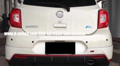 ชุดแต่ง Nissan March New 2013 ทรง ZTEC