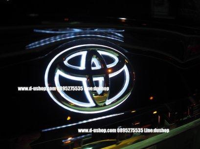 โลโก้มีไฟหน้าแท้ Toyota Fortuner All New 2015