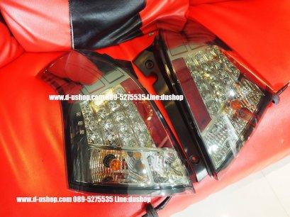 โคมไฟท้าย Smoke LED ตรงรุ่น Suzuki Swift Ver.2