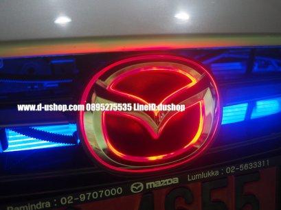 โลโก้หน้าแบบมีไฟสำหรับ Mazda2 All New Skyactiv 2015