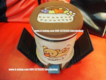 ถังขยะอเนกประสงค์ลาย rilakkuma fruit สำหรับรถทุกรุ่น