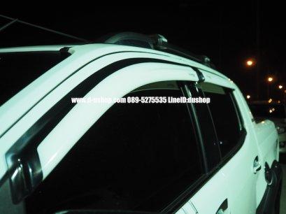 กันสาดสีขาวตรงรุ่น Chevrolet Colorado New 2012-16