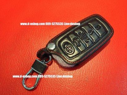กระเป๋ากุญแจหนังดำด้ายแดง ตรงรุ่นสำหรับ Toyota Alphard All New 2015