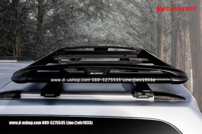 แร็คหลังคาแครี่บอยขนาด 100X120 สำหรับรถ Honda CRV All New 2017