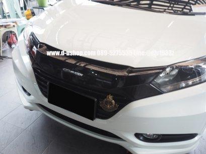 กระจังหน้าดำเงาตรงรุ่น Honda HRV 2015 ทรง Mugen