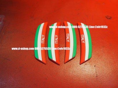 กันกระแทกธงชาติอิตาลี แบบนูน สำหรับรถทุกรุ่น