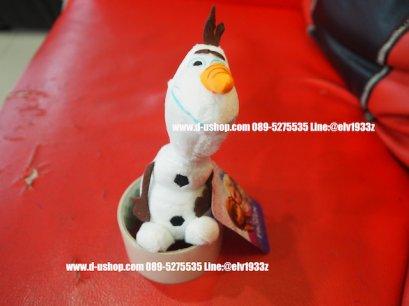 พวงกุญแจตุ๊กตา ลายolaf (Frozen)