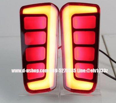 ไฟทับทิมท้ายแดงLED ตรงรุ่นToyota Alphard New 2015/ vellfire New 2015
