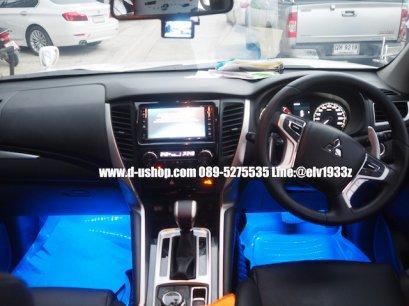 บริการติดตั้งไฟส่องใต้เท้า สำหรับรถ Mitsubishi Pajero All new