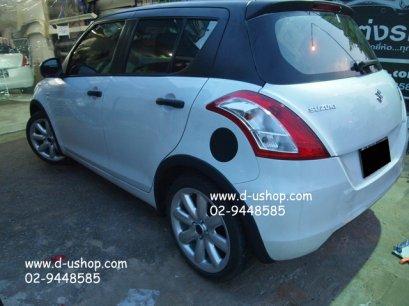 คิ้วโป่งล้อดำด้าน Suzuki Swift Eco Car 2012