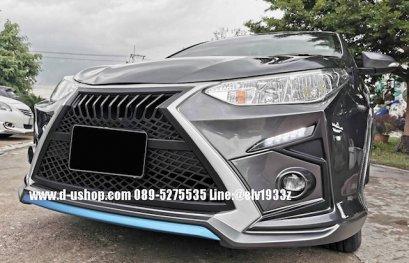 Full Front Bumper for Toyota Yaris ATIV 2017, Amotriz Style