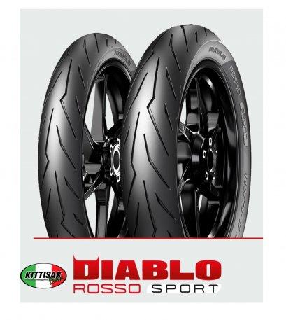 ยาง Pirelli Diablo Rosso Sport