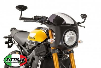 PUIG - WINDSHIELD SEMI FAIRING CARBON ชิลด์ ​Semi Fairing คาร์บอน