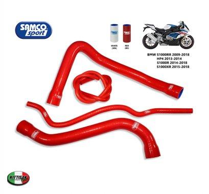 ท่อยางหม้อน้ำ Samco Sport  รุ่น BMW S1000RR 2009-2018