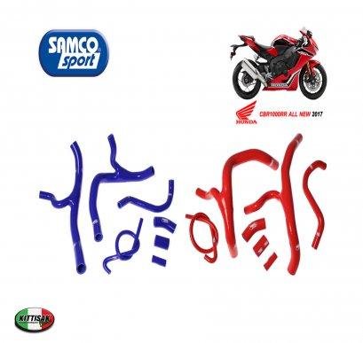 ท่อยางหม้อน้ำแต่ง Samco Sport  มี2สี สีน้ำเงิน, สีแดง