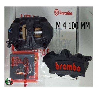 ปั้มเบรค Brembo รุ่น M4 ขนาด 100mm. สีดำ