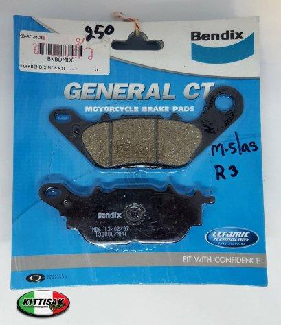 ผ้าเบรค Bendix R15 MD6