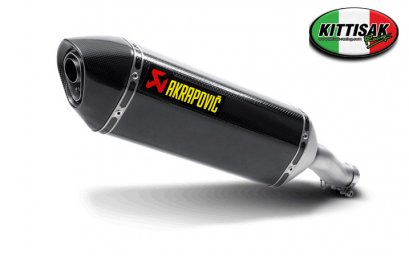 ท่อ AKRAPOVIC - SLIP ON CARBON