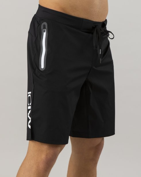ICIW Perform Short Black/White Men Lightweight fabrics and four-way stretch