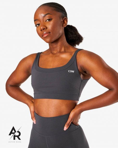 Nimble Sports Bra Anthracite
