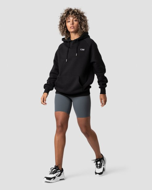 Essential Hoodie Black (Oversized)