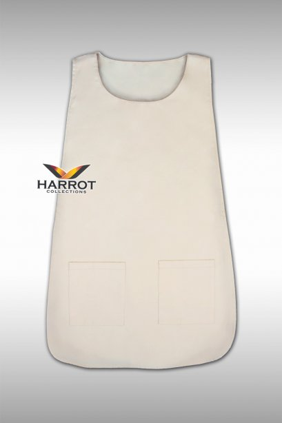 Beige Covered Apron (FSA0501)