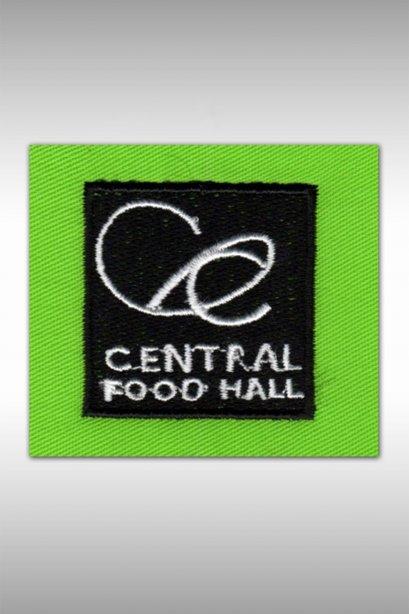 ตัวอย่างงานปัก CENTRAL FOOD HALL