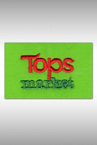 ตัวอย่างงานปัก TOPS market