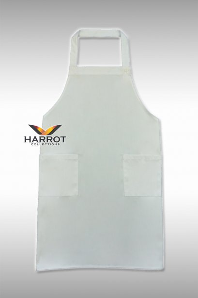 White Full Apron