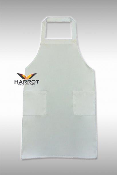 ผ้ากันเปื้อน ผ้ากันเปื้อนเชฟ ผ้ากันเปื้อนพ่อครัว ผ้ากันเปื้อนกุ๊ก ผ้ากันเปื้อนเสิร์ฟ เต็มตัว สีขาว(FSA0301)
