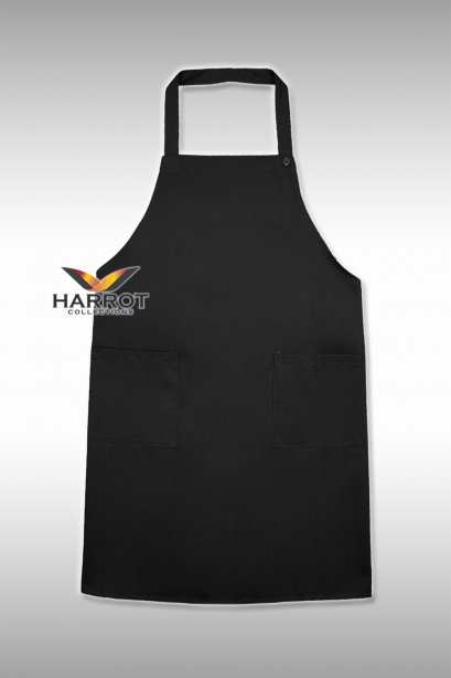 Black Full Apron