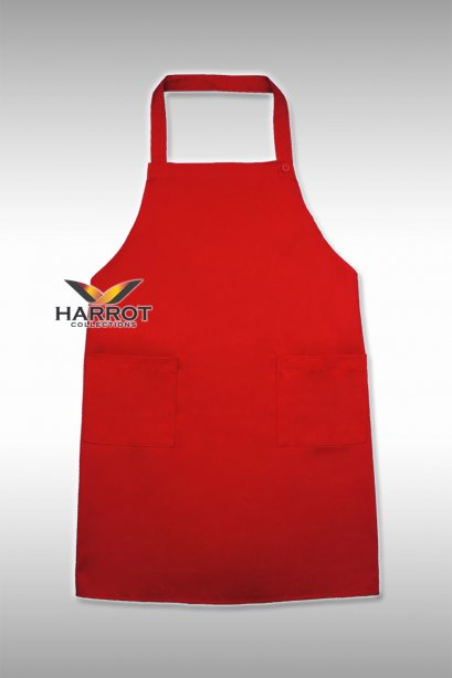 Red Full Apron
