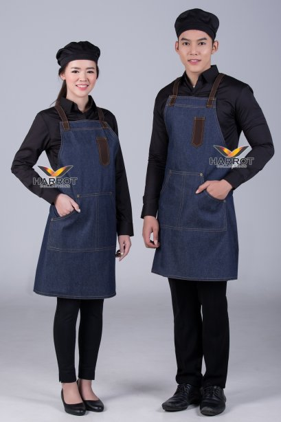 Blue Jeans Full Apron