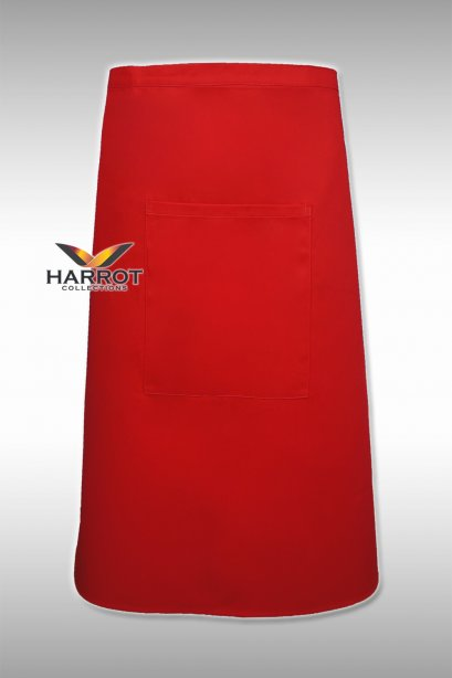 Red Half Long Apron