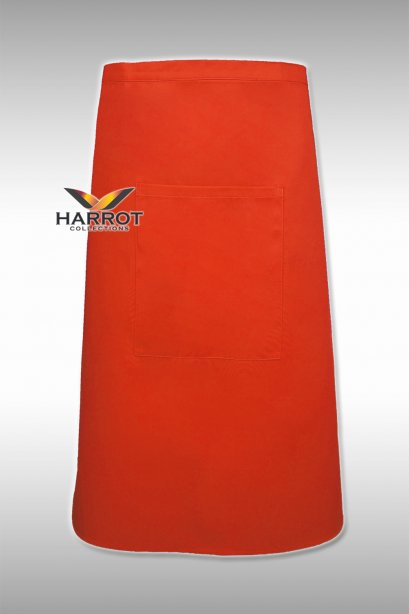 Orange Half Long Apron