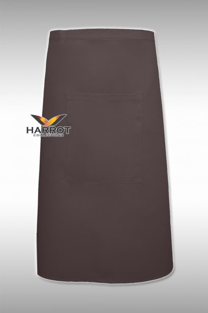 Brown Half Long Apron