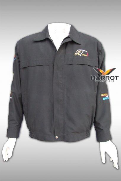 เสื้อแจ็คเก็ต สีดำ