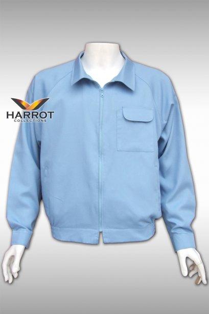 เสื้อแจ็คเก็ต สีฟ้า
