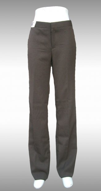Straight leg pants , brown