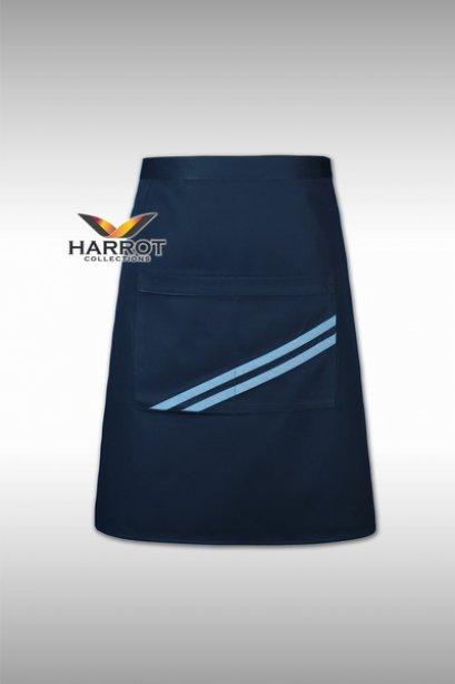 ผ้ากันเปื้อน ครึ่งสั้น เดอะสตรีท สีกรมกุ๊นฟ้า (FSA0183)