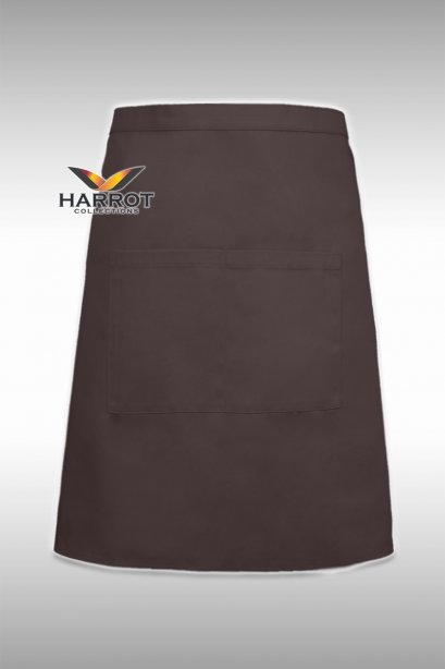 Brown Half Short  Apron
