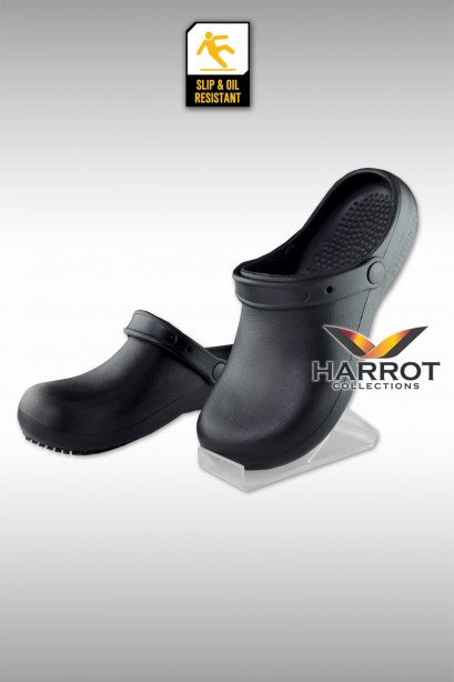 Black Anti-Skid Anti-Slip Shoe