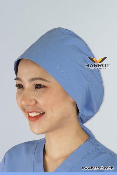 หมวกคลุมผม ห้องผ่าตัด สีฟ้าอ่อน (HPC0103)