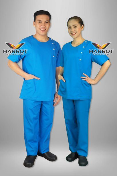 Dark Blue Scrub Set (HPG0161)