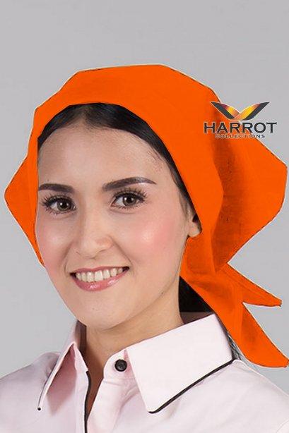 ผ้าสามเหลี่ยม สีส้ม