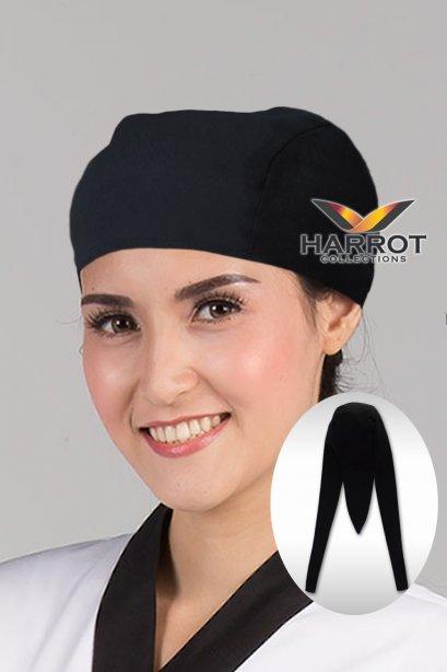 หมวกสามหาง สีดำ