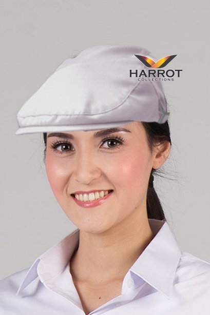 White Hunting Hat