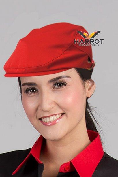 หมวกฮันติ้ง สีแดง